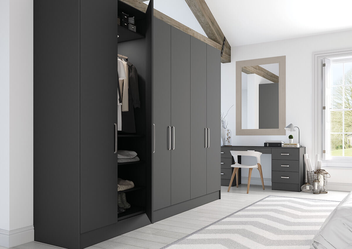 Vivo Matt Bedrooms Anthracite