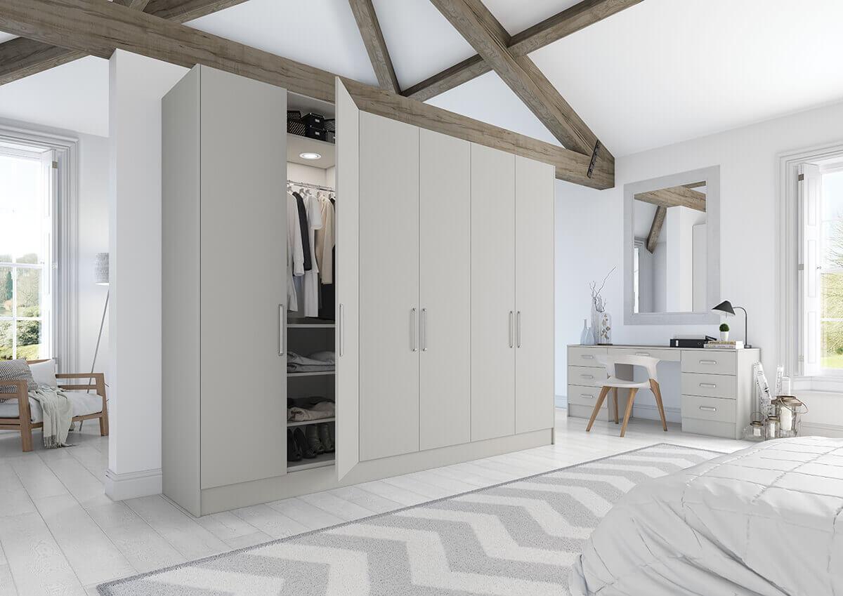 Vivo Matt Bedrooms Light Grey