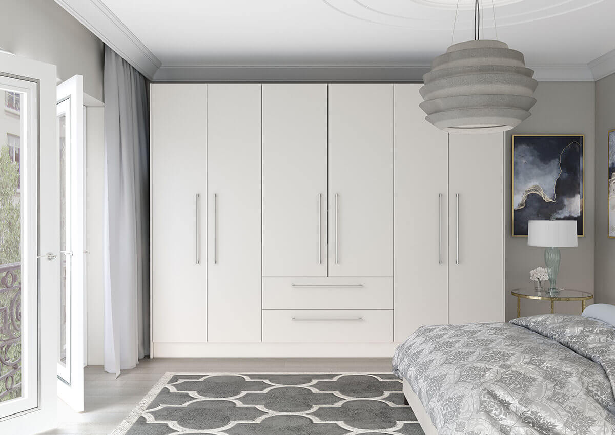 Vivo Matt Bedrooms White